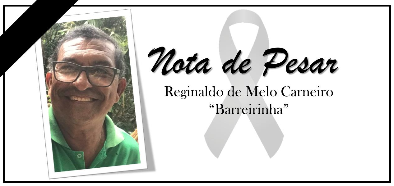 Ufam informa, com pesar, o falecimento do servidor da PCU, Reginaldo de Melo Carneiro, o 'Barreirinha