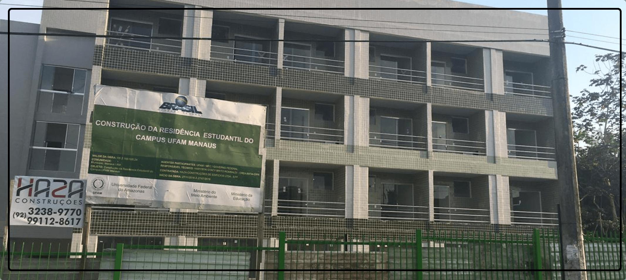 Residência Universitária recebe os últimos ajustes para sua entrega.