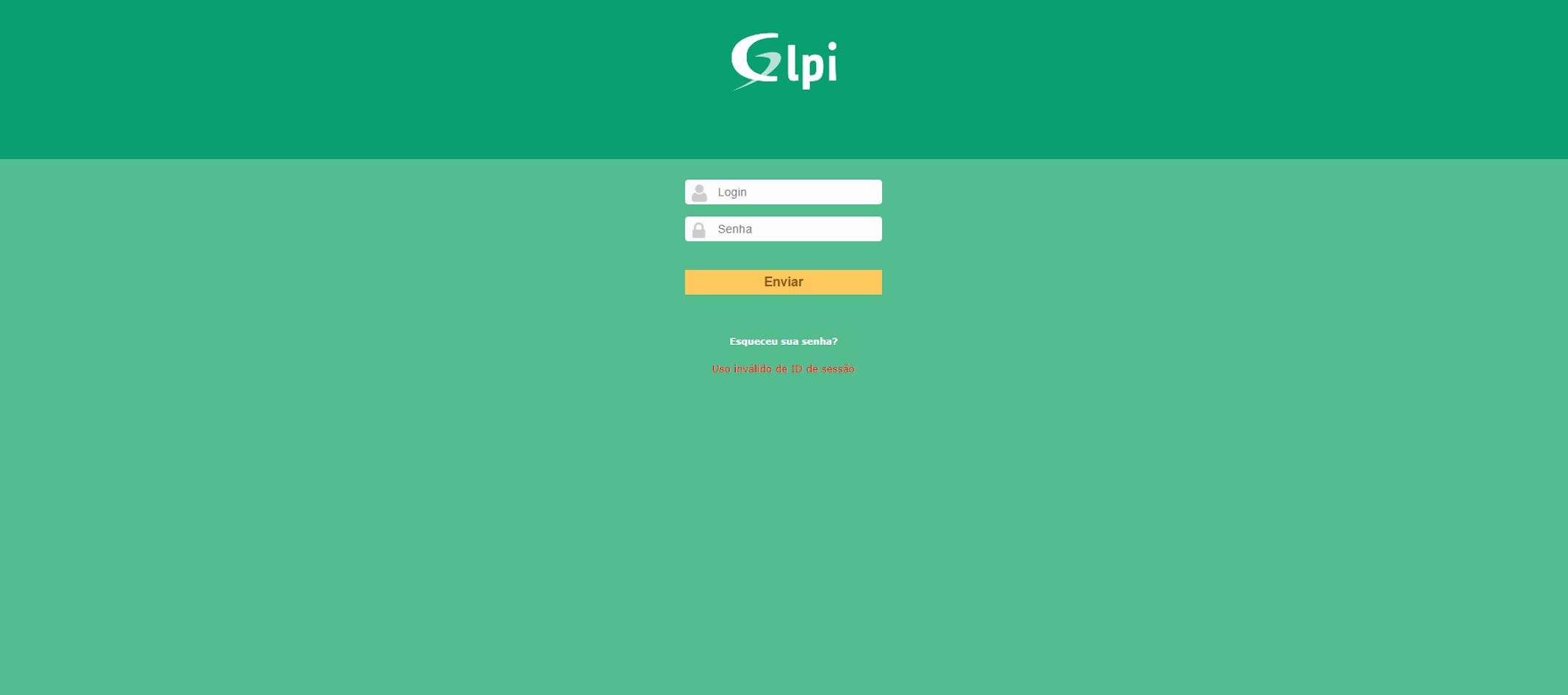 Chamados para manutenção serão atendidos somente pelo GLPI